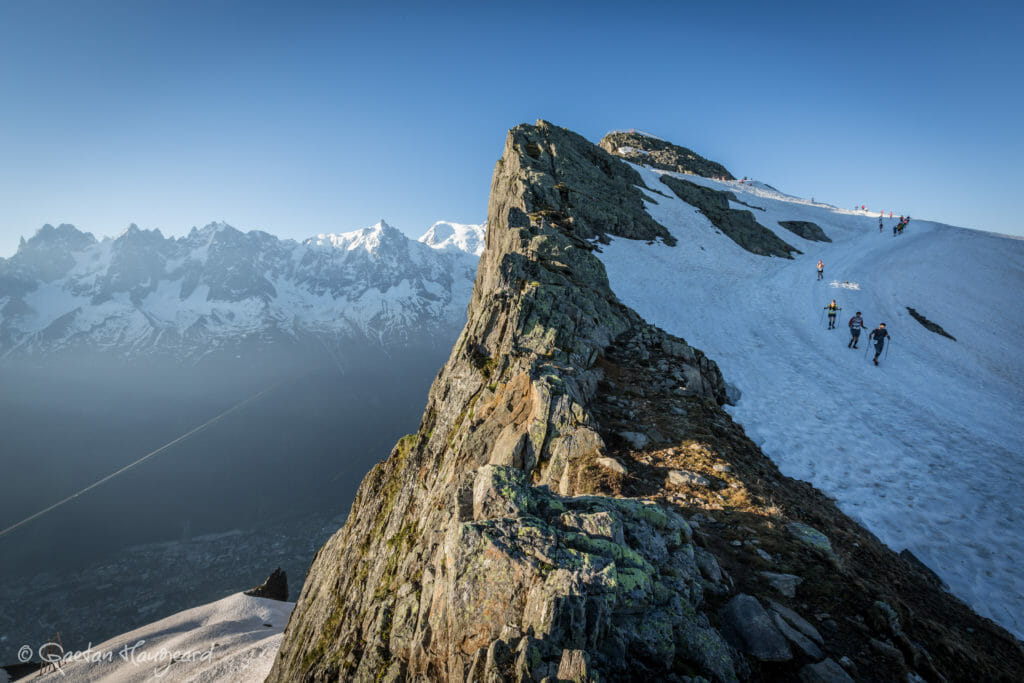 The 80km ultra-marathon has become one of Europe's classic mountain events-- in no small part thanks to turn after turn of remarkable views. (Photos courtesy of Club des Sports, Gaetan Haggard.)