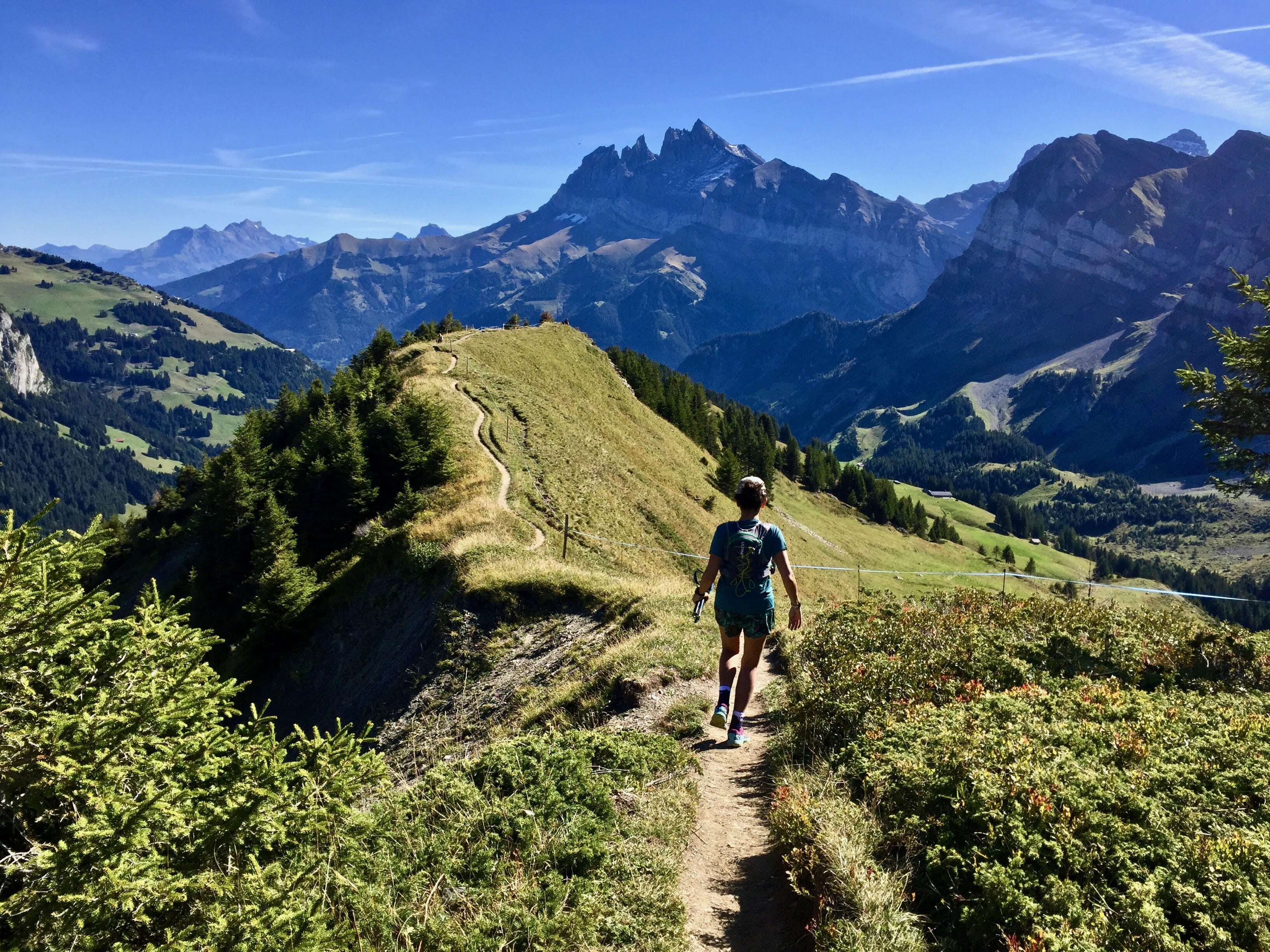 Chamonix to Champéry – a taste of the Alps and the Dents du Midi trail race
